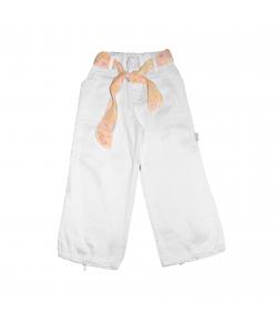 Carina - Fehér színű kislány bermuda