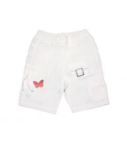 Dodipetto - Fehér pillangós kislány bermuda