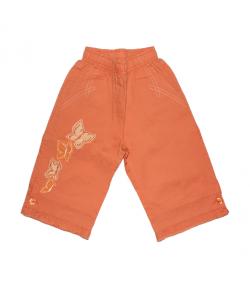 Narancssárga kislány halásznadrág 98-as