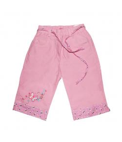 Lollipop - Rózsaszín megkötős kislány halásznadrág