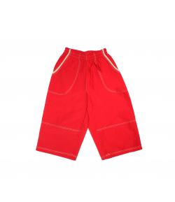 Piros fiú bermuda 128-as