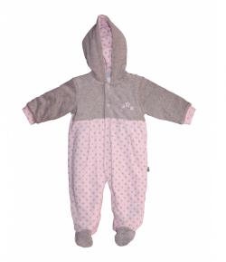 F.S.-Baby -Gyönyörű plüss rózsaszín levegőztető (74-es)