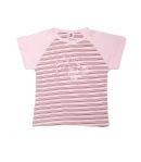 Rózsaszín-mályva kislány kétrészes 116-os