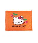 Asti- Narancs színű, Hello Kitty-s filnyomással díszített párna