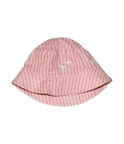 Rózsaszín csíkos kislány kalap