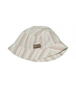 Drapp lenvászon fiú kalap