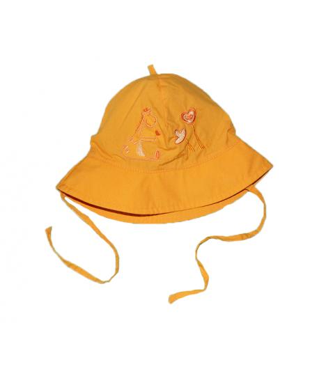 Narancsárga kislány kalap