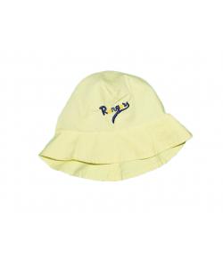Citromsárga kislány kalap