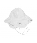 Fehér alkalmi kislány kalap