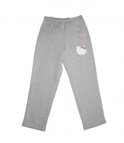 Asti- Szürke színű, Hello Kitty -s filmnyomással díszített lányka szabadidő nadrág 116-os