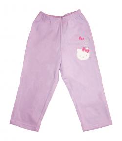 Asti - Hello Kitty-s halvány lila szabadidő nadrág 98-as