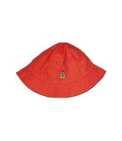 Téglaszínű fiú kalap