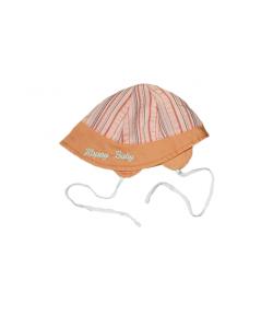 Csíkos kislány kalap
