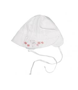 Fehér pillangós kislány kalap
