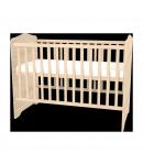 120-as Zárt végű Ágyneműtartós Gyermekágy - Borostyán