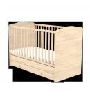 70x140-es Átalakítható Gyermekágy Ágyneműtartós - Borostyán
