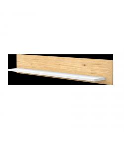 800-as Egyenes falipolc - Mandula-fehér