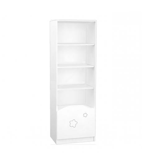 Csillagos álló szekrény középső elem FÉLIX - Fehér