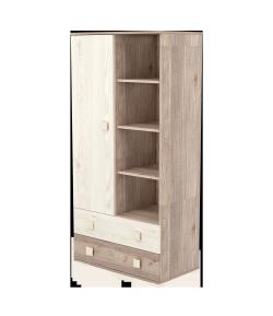 1 ajtós 2 fiókos álló szekrény - Krém-fűz