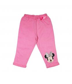 Rózsaszín Minnie kislány pamut nadrág 86-os