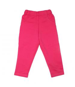 Pink kislány pamut nadrág