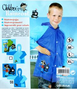 Kalózos fiú esőkabát S-es