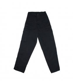 Roberta - Kényelmes, sötétkék fiú vászon nadrág 158-as