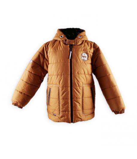 Mikka - Fiú pufi kabát mustár sárga