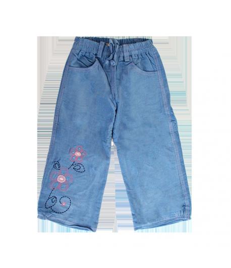 Lollipop -Világoskék színű kislány bélelt nadrág 86-os