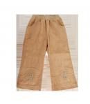 Asti - Drapp színű színű kislány bélelt nadrág 98-as