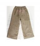 Király G- Keki zöld színű kord kislány bélelt nadrág többféle méretben