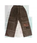 Brando 2000- Keki színű kord fiú, bélelt nadrág 116-os