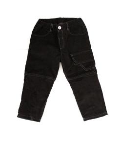 Pirinyo- Sötét szürke kord fiú nadrág pamut béléssel 92-es