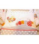 Gyermek ágynemű - Pöttyös (muszlin baldachinos)
