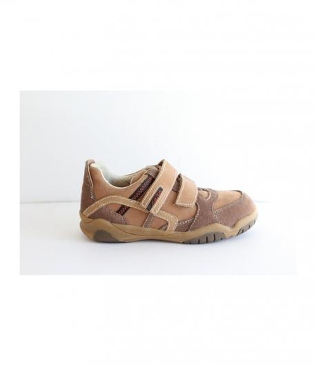 Barna velúr két tépőzáras Siesta Richter cipő 29-es