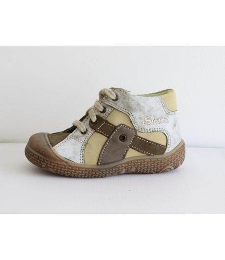 Siesta Zöld Nubuk cipő - fűzős