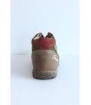 Siesta barna Nubuk cipő - magas szárú fűzős