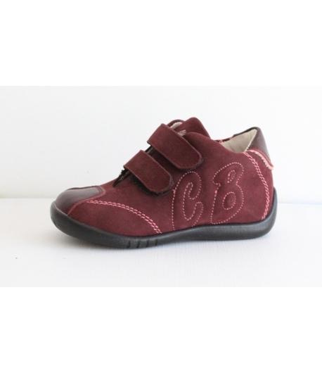 CIAO BIMBI piros cipő tépőzáras 21-es