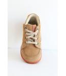 Siesta V. barna Nubuk cipő - magas szárú fűzős 22-es