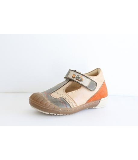 Szamos bőr cipő 1 tépőzáras