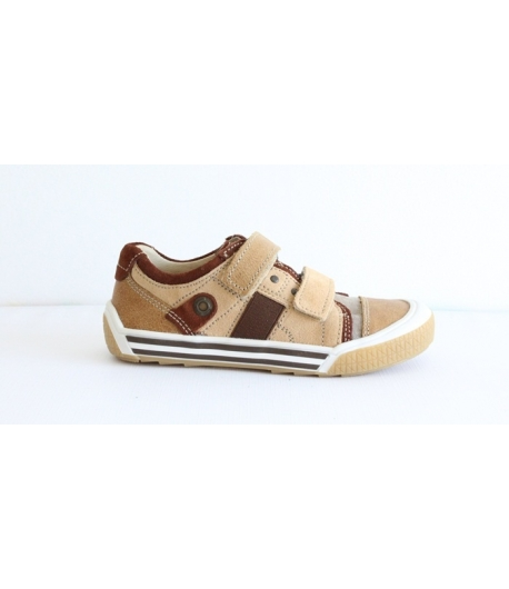 Siesta Richter barna velúr 2 tépőzáras cipő