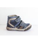 Szamos bőr cipő 2 tépőzáras