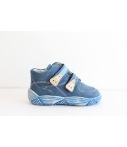 Siesta kék drapp 2 tépős cipő 22-es