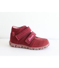 Siesta bordó 2 tépős cipő