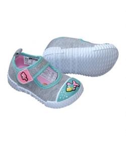 Beppi lány benti szövet cipő, - Halacska 19-es