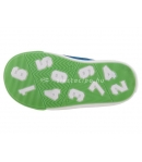 SIESTA RICHTER tengerkék/zöld 2 tépőzáras velúr bőr cipő 26-os