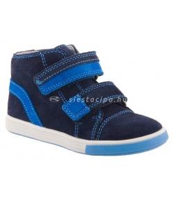 SIESTA RICHTER sötétkék/kék 2 tépőzáras bőr cipő