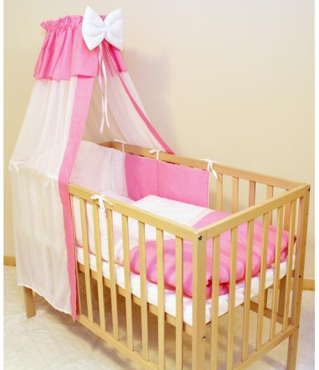 Baby Dream Ágynemű garnitúra 4 részes - Rózsaszín
