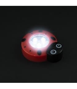 Nyomógombos lámpa - katica