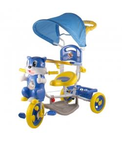 Cicás fedeles tricikli, kék